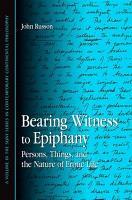 Bearing Witness to Epiphany PDF