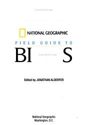 National Geographic Field Guide to Birds PDF