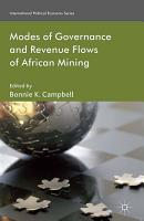 Modes of Governance and Revenue Flows in African Mining PDF