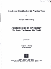 Grade Aid for Kosslyn and Rosenberg['s] Fundamentals of Psychology : the Brain, the Person, the World