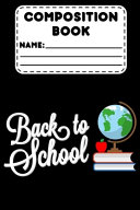 Composition Book Back To School