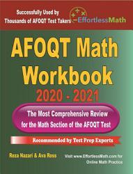AFOQT Math Workbook 2020   2021 PDF