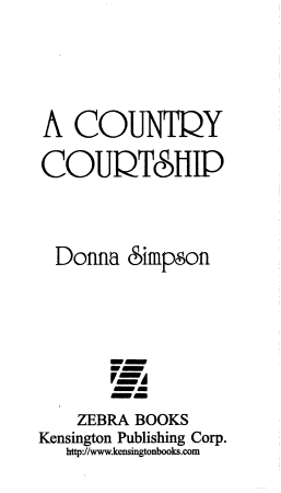 A Country Courtship PDF