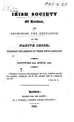 Irish Society of London, etc. (General rules ... Address, etc.).