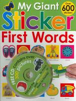 My Giant Sticker First Words  with CD  PDF