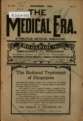 The Medical Era: A Practical Medical Magazine, Volume 14, Issue 3