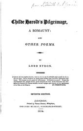 Childe Harold's Pilgrimage,: A Romaunt: and Other Poems