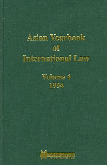 Asian Yearbook of International Law PDF
