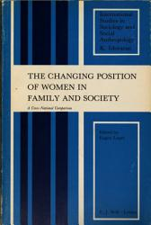The Changing Position Of Women In Family And Society Book PDF