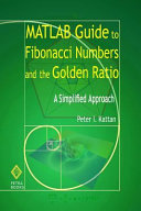 MATLAB Guide to Fibonacci Numbers and the Golden Ratio PDF