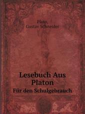 Lesebuch Aus Platon