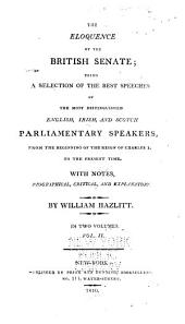 Parliamentary speeches from 1761 to 1802