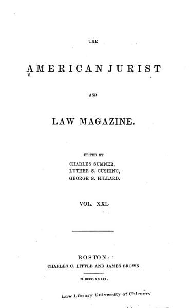 Download The American Jurist Book