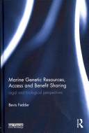 Marine Genetic Resources Access And Benefits Sharing Book PDF
