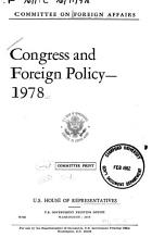 Congress and Foreign Policy PDF