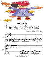 Autumn the Four Seasons - Beginner Tots Piano Sheet Music