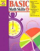 Basic Math Skills Grade 6 PDF
