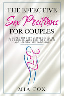 The Effective Sex Positions for Couples PDF