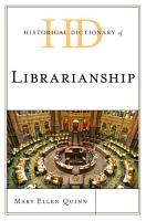 Historical Dictionary of Librarianship PDF