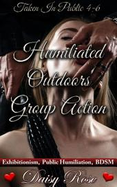 """Humiliated Outdoors Group Action: Books 4 - 6 of """"Taken In Public"""""""
