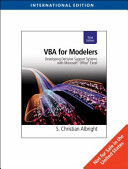 VBA for Modelers PDF