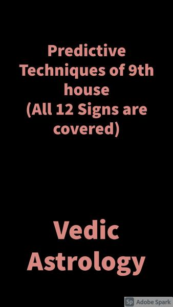 Download Predictive Techniques of 9th house  All 12 Signs are covered  Book