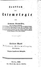 Handbuch der Entemologie