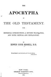 The Apocrypha of the Old Testament PDF