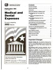 Internal Revenue Service tax information publications: Volume 1