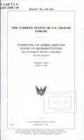 The Current Status of U S  Ground Forces PDF