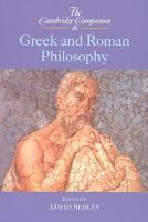 The Cambridge Companion to Greek and Roman Philosophy PDF