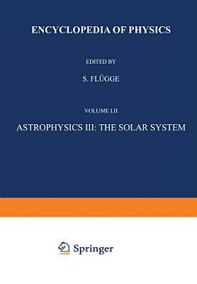 Astrophysics III  The Solar System   Astrophysik III  Das Sonnensystem