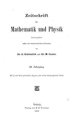 Zeitschrift f  r Mathematik und Physik PDF