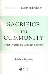 Sacrifice And Community Book PDF