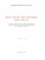 Enea Silvio Piccolomini papa Pio II.
