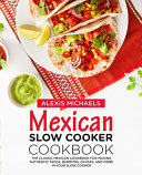 Mexican Slow Cooker Cookbook
