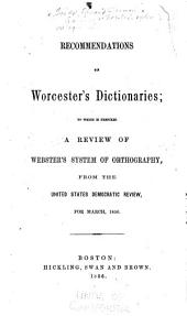 A review of Webster's system of orthography: from the United States democratic review, for March, 1856