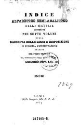 Raccolta delle leggi e disposizioni di pubblica amministrazione nello stato pontificio: Volume 41