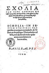 Scholia in septem Euripidis Tragoedias