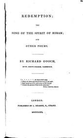 Redemption, The Song of the Spirit of Hiram, and Other Poems