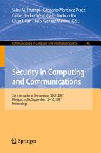 Security in Computing and Communications PDF