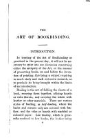 Bibliopegia  or  The art of bookbinding in all its branches  by John Andrews Arnett PDF