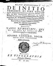 Relatio compendiaria de initio processu et fine Colloquii Ratisbonensis anno 1601 inst