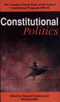 Constitutional Politics PDF