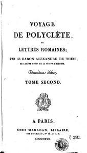 Voyage de Polyclète, ou, Lettres romaines