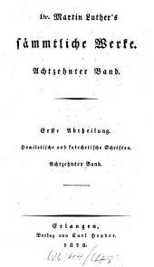 Sämmtliche Werke: Homiletische und katechetische Schriften: Vermischte Predigten : dritter Band, Band 18
