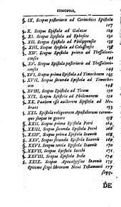Augusti Hermanni Franckii ... commentatio de scopo librorum Veteris et Novi Testamenti