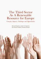 The Third Sector as a Renewable Resource for Europe PDF
