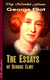 The Essays of George Eliot: Top Novelist Focus