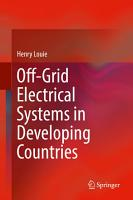 Off Grid Electrical Systems in Developing Countries PDF